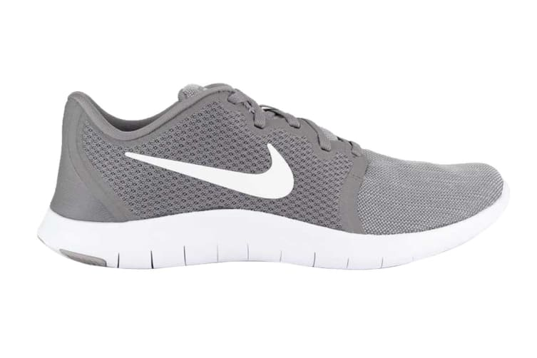 Nike Flex Contact 2 Men's Trainers (White/Grey, Size 8 US)