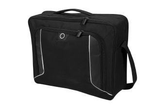 Avenue Stark Tech 15.6in Laptop Briefcase (Solid Black)