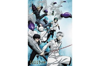 Tokyo Ghoul:re Poster (Multicolour) (One Size)