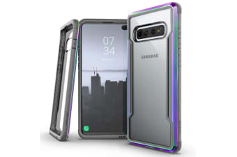 X-Doria Defense Protect Shield Clear Case f/ Samsung Galaxy S10+ Plus Iridescent