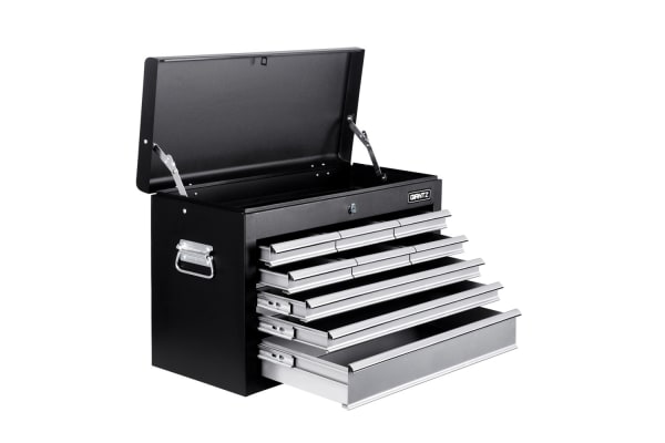 9 Drawers Tool Box Chest (Black/Grey)