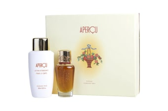 Houbigant Apercu Eau De Toilette Spray 50ml/1.6oz & Body Lotion 200ml/6.6oz