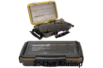 Zerek Gadget Z Small Waterproof Fishing Tackle Tray -Air Tight Tackle Box