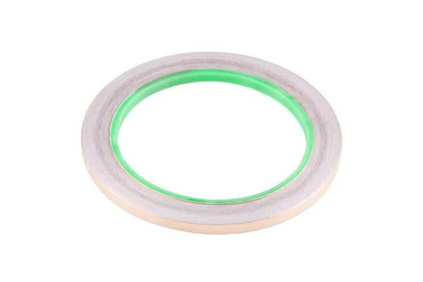 Copper Tape - Conductive Adhesive, 5mm (100ft)