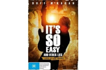It's So Easy and Other Lies  | Region 4  -Music Region 4 Rare- Aus Stock Preowned DVD: DISC LIKE NEW