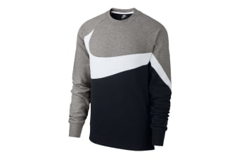 Nike Sportswear Men's Crew (Dark Grey Heather/White)