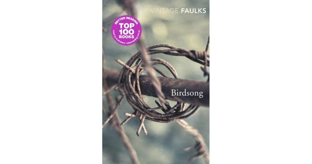 sebastian faulks birdsong essay I need some ideas for my as eng lit essay on the following title: consider stephen wraysford in the first chapter of birdsong by s f its not coursewo.
