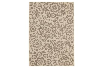 Coffee Indoor Outdoor Modern Beige Rug 160X110cm