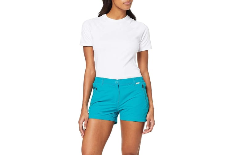 Regatta Womens/Ladies Highton Walking Shorts (Enamel) (8 UK)