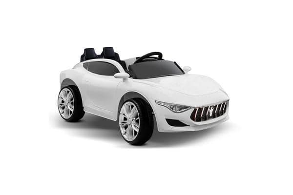 Kids Ride on Sports Car (White)