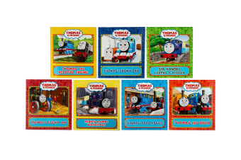 Generic Thomas & Friends 7-Book Collection Children Bed Story Paperback Books