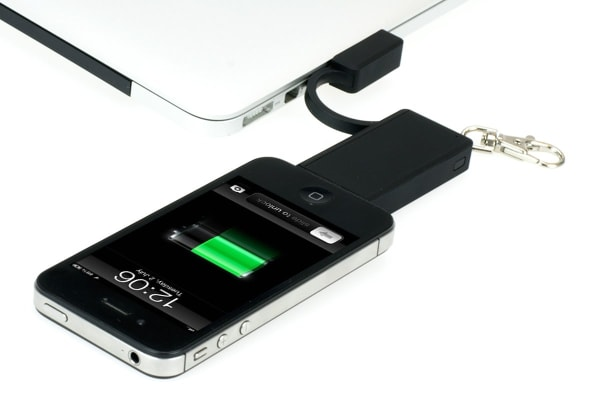 Kogan 3-in-1 Key Ring Power Bank Portable Charger (iPhone 30-pin Connector)