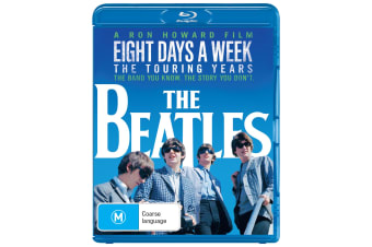 The Beatles Eight Days a Week The Touring Years Blu-ray Region B