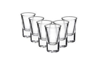 Bormioli Rocco Dublino Shot Glass 34ml Set of 6