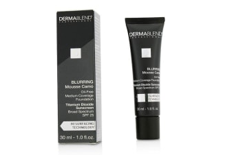 Dermablend Blurring Mousee Camo Oil Free Foundation SPF 25 (Medium Coverage) - #15C Buff (Exp. Date 01/2019) 30ml/1oz