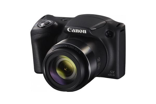 Canon PowerShot SX430IS Digital Camera - Black