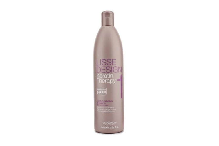 AlfaParf Lisse Design Keratin Therapy Deep Cleansing Shampoo 500ml