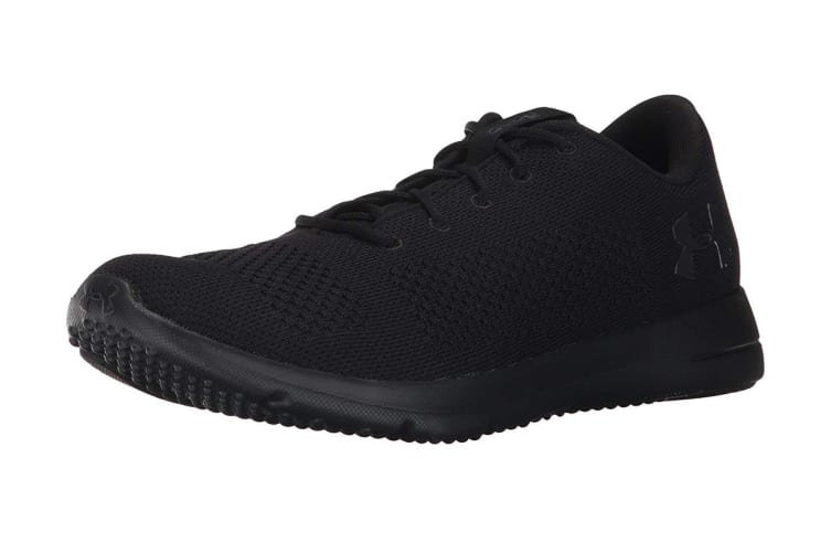 Under Armour Men's Rapid Sneaker (Black/Black, Size 7)