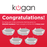 We've reached half a million Facebook fans! Thank you from Kogan!