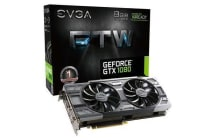 EVGA FTW GeForce GTX1080 Graphics Card 8GB GDDR5X DVI HDMI 3xDisplay ports ACX 3.0 Cooling system 3
