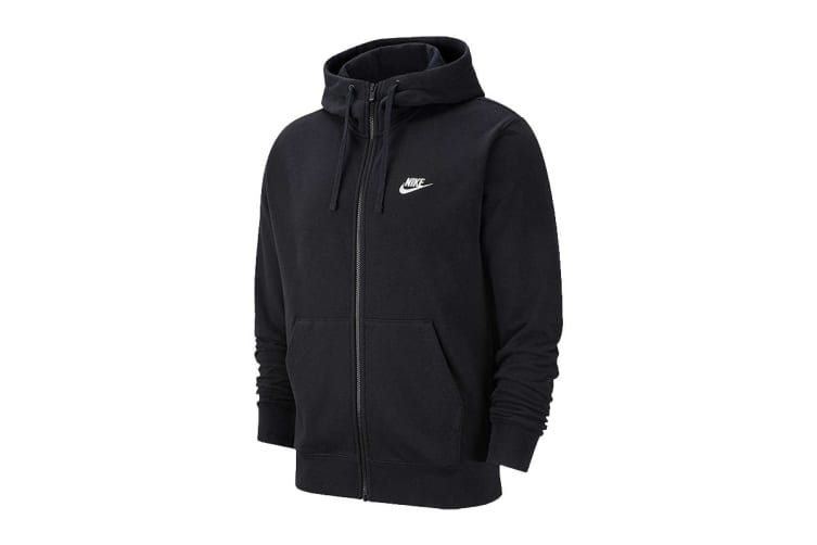 Nike Men's Sportswear Club Hoodies (Black, Size XL)