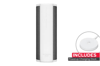 Logitech UE Blast with PowerUp Stand (Blizzard White)