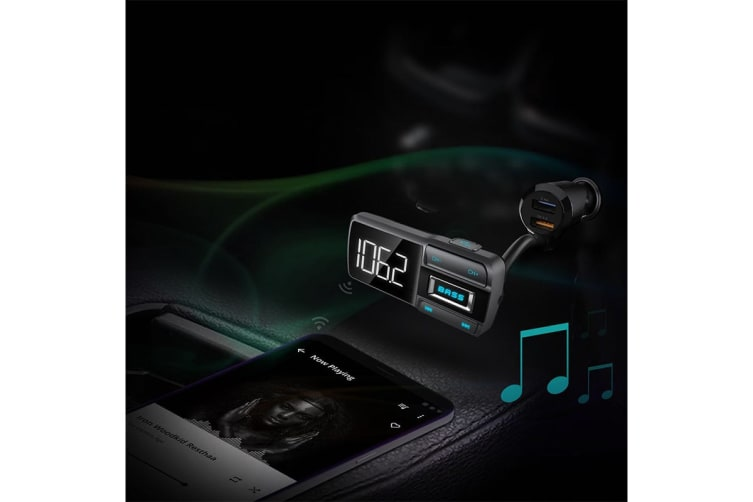 Kogan Car FM Transmitter with Bass Booster