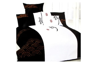 Ripple Quilt Cover Set - Queen by Orient Sense