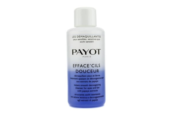 Payot Les Demaquillantes Efface' Cils Douceur Instant Smooth Decongesting Cleanser For Eyes & Lips (Salon Size) (200ml/6.7oz)