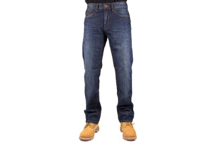 CAT Lifestyle Mens Trax Original Roth Casual Jeans (Roth) (32S)