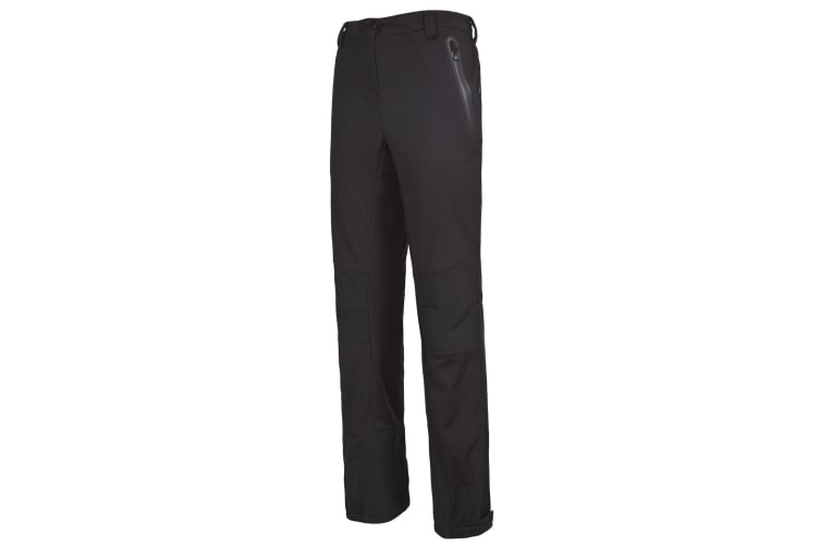 Trespass Womens/Ladies Sola Softshell Outdoor Trousers (Black) (XS)