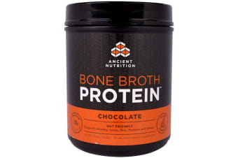 Dr. Axe / Ancient Nutrition Bone Broth Protein - Chocolate 504g