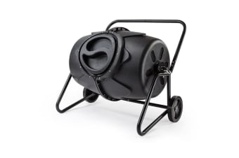 Baumr-AG 190L Aerated Compost Tumbler Bin Food Waste Garden Recycling Composter