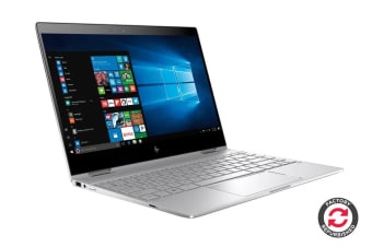 "HP Spectre x360 13.3"" Convertible 2-in-1 Touch Screen Ultrabook (i7-8550U, 8GB RAM, 256GB SSD, Silver) - Certified Refurbished"