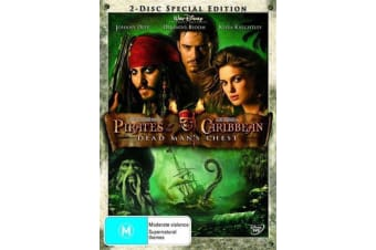 Pirates Of The Caribbean - Dead Man's Chest - Rare- Aus Stock DVD NEW