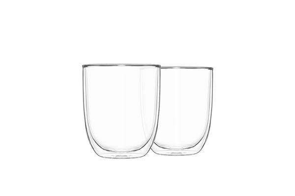 Pyrex 2pc Double Wall Glass Set 250ml