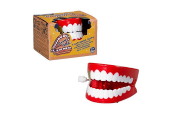 Hilarious Retro Wind-Up Chattering Teeth | Ridley`s
