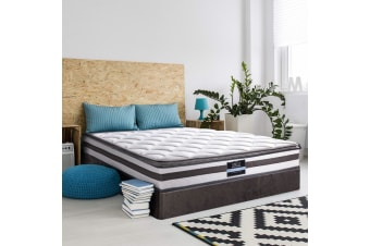 Giselle Bedding SINGLE Mattress Pillow Top Bed Size Bonnell Spring Foam 21