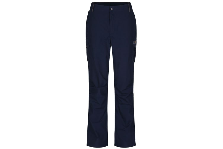 Regatta Great Outdoors Mens Delph Cargo Trousers (Navy) (33L)
