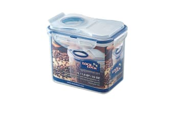 Lock & Lock Classic Rectangular Tall Container with Flip Pour Lid 1L