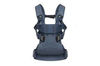 BabyBjorn Baby Carrier One Classic (Denim/Midnight Blue)