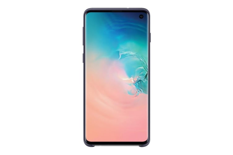 Samsung Galaxy S10 Silicone Cover - Navy