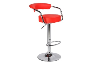 Set of 2 Gina Barstools  (Red)