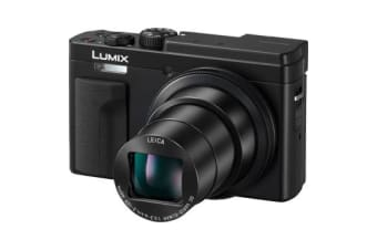 New Panasonic Lumix DC-TZ95 Digital Camera Black (FREE DELIVERY + 1 YEAR AU WARRANTY)