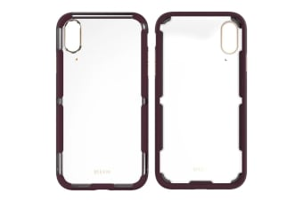 EFM Cayman D3O Crystalex Case Armour Cover for Apple iPhone X/XS Mulberry/Gold