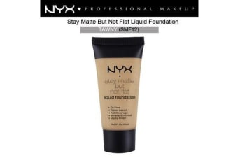 Nyx Stay Matte Not Flat Liquid Foundation #Smf12 Tawny Medium Skin Tone