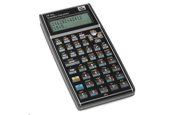 """HP F2215AA 35s Scientific Calculator 100 Functions - 14 Digit(s) - LCD - Battery Powered - 0.7"""" x"""
