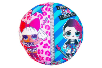 LOL Surprise 2 in 1 Reversible Round Cushion (Pink) (One Size)