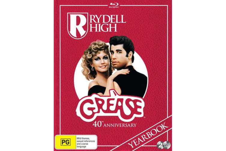 Grease 40th Anniversary Edition DVD Region 4