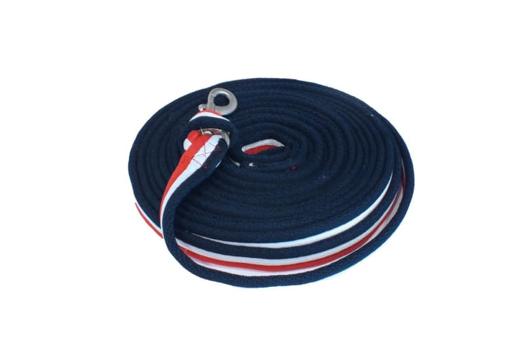 Whitaker Lunge Line (Red/White/Blue) (8m)